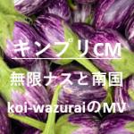 キンプリ新CM平野紫耀無限ナスレシピとyahoo動画!南国編、koi-wazuraiのMVも!